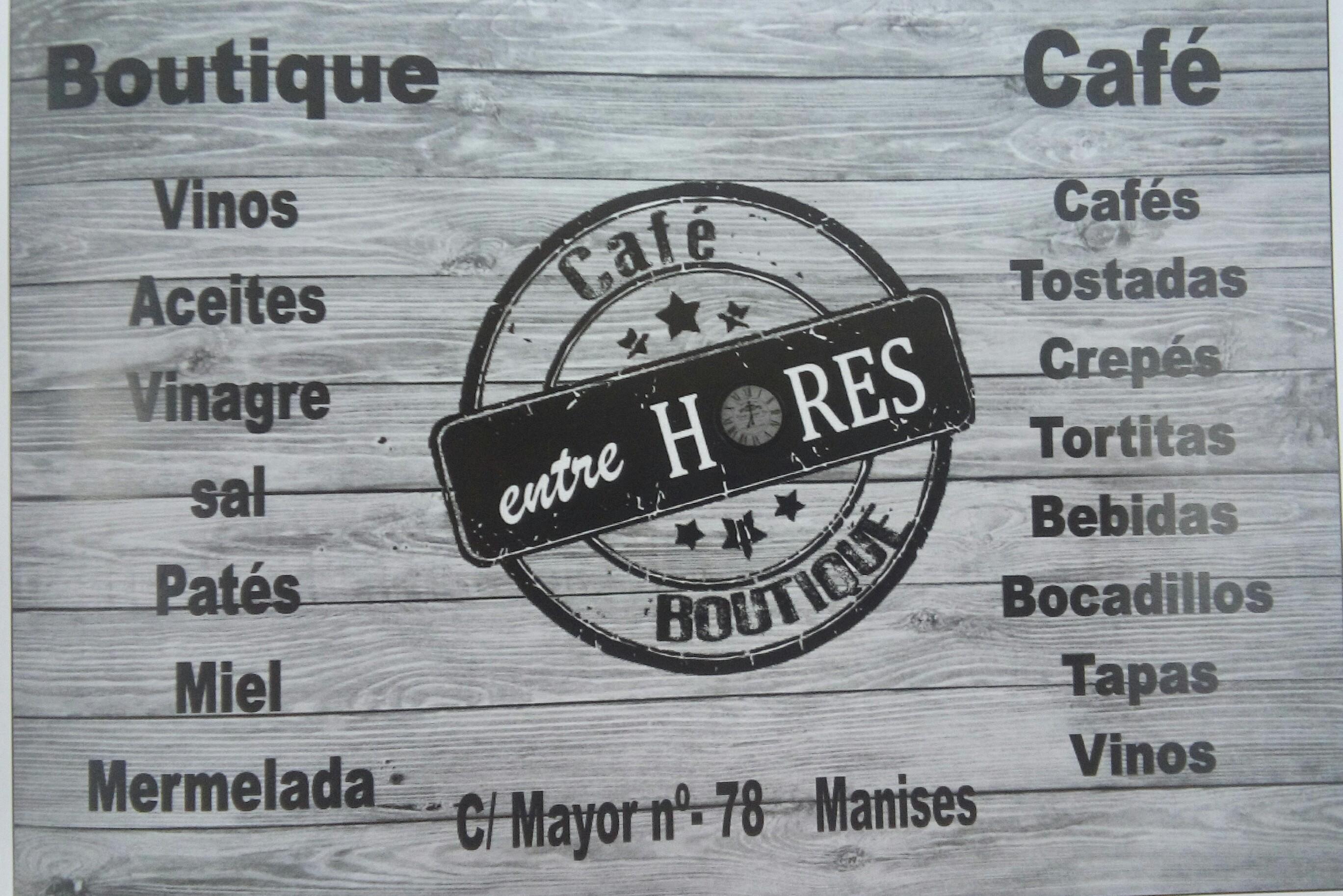 Cafe&Boutique entreHORES