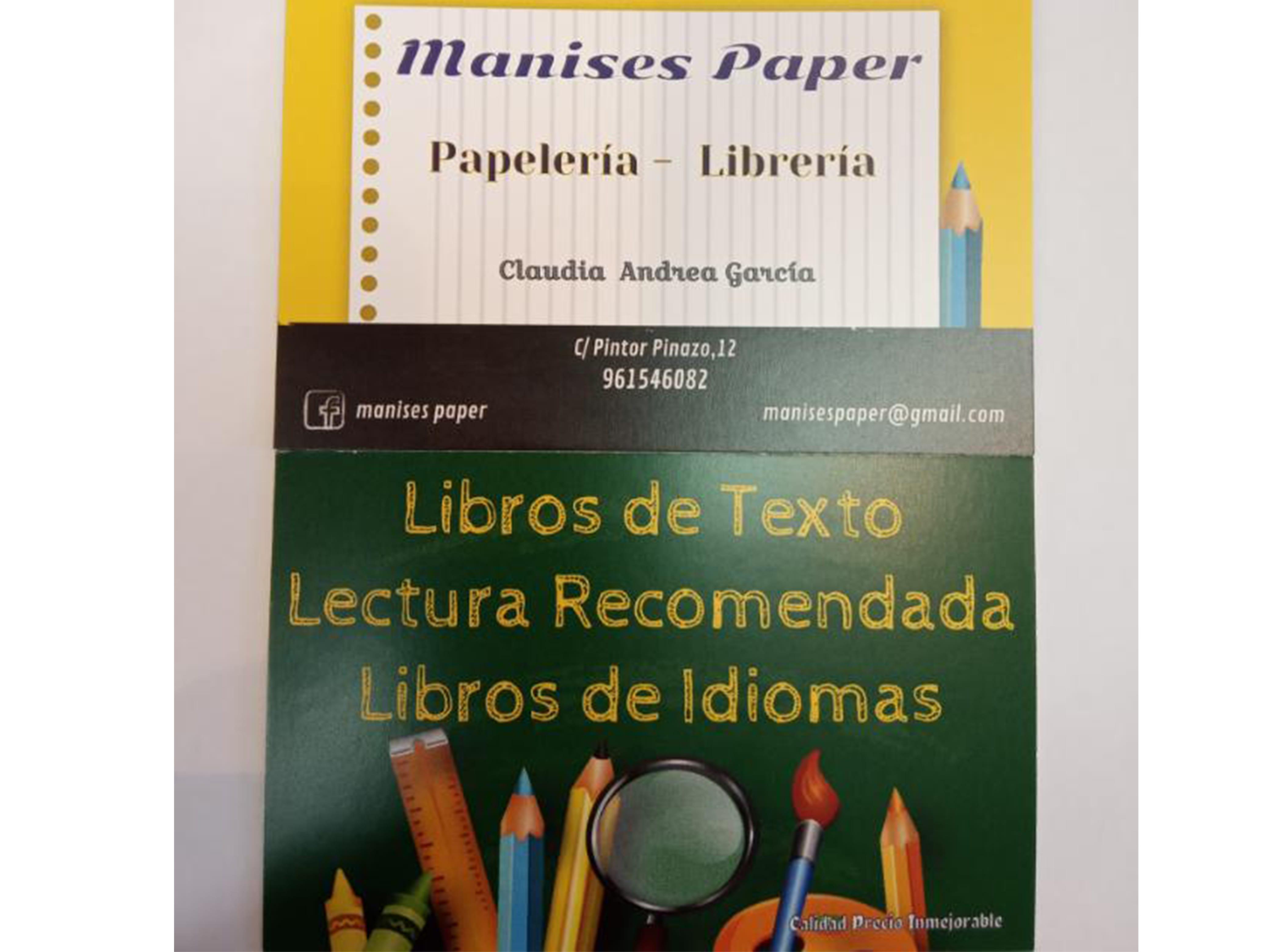 Papelería Librería Manises Paper